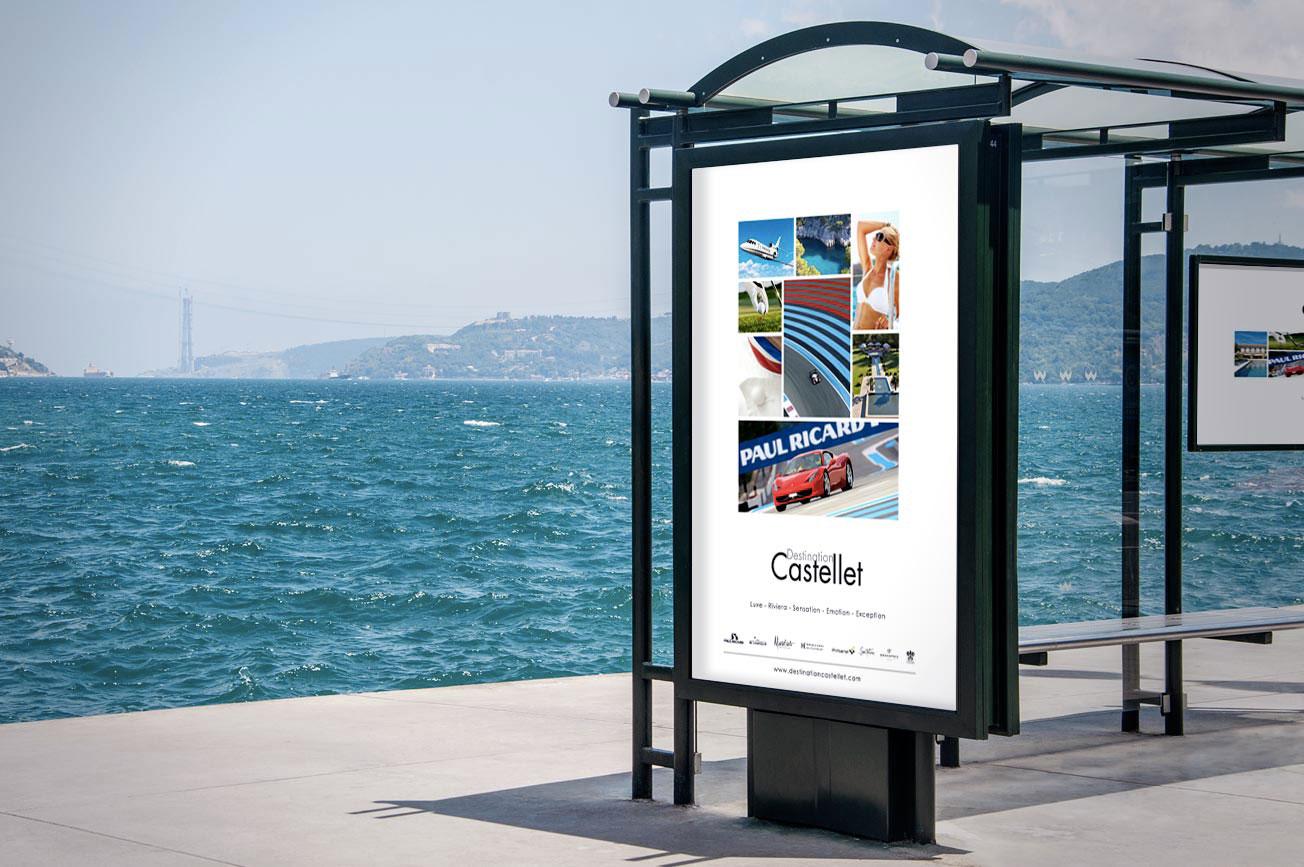 Affiche campagne affichage